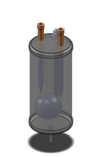 Séparateur d'huile et réservoir