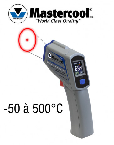 Thermomètre Infrarouge à distance avec Laser Mastercool