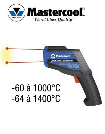 Thermomètre Ultra Dual-Temp à Rayon Laser de Mastercool