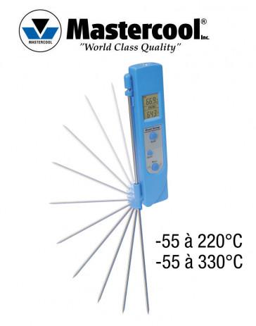 "Thermomètre infrarouge à double mesure ""Dual Temp"" Mastercool"