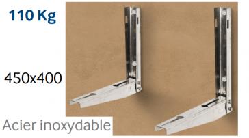Support en INOX pour unité extérieure jusqu'à 110 kg