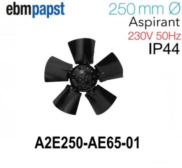Ventilateur hélicoïde A2E250-AE65-01 de EBM-PAPST