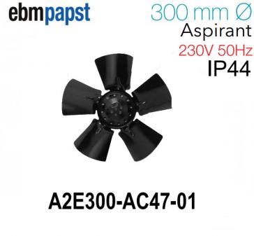 Ventilateur hélicoïde A2E300-AC47-01 de EBM-PAPST