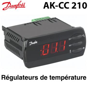 Régulateur évaporateur AK-CC 210 Danfoss