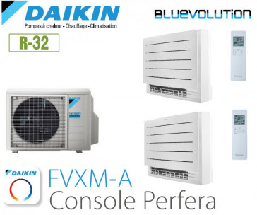Daikin Console Perfera Bisplit 2MXM50N + 2 FVXM25A - R-32