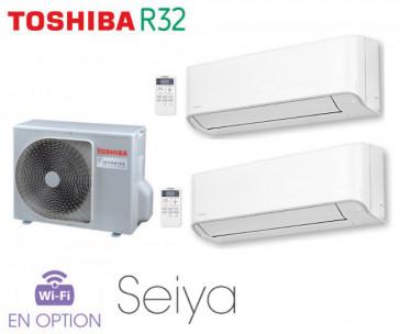 Toshiba Seiya Bi-Split RAS-2M14U2AVG-E + 2 RAS-B07J2KVG-E