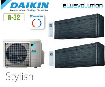Daikin Stylish Bisplit 2MXM40N + 2 FTXA20BT - R32