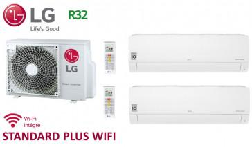LG Bi-Split STANDARD PLUS WIFI MU2R17.UL0 + 1 X PM05SP.NSJ + 1 x PC12SQ.NSJ - R32