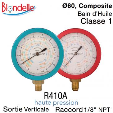 Manomètre de remplacement HP - R410A de Blondelle