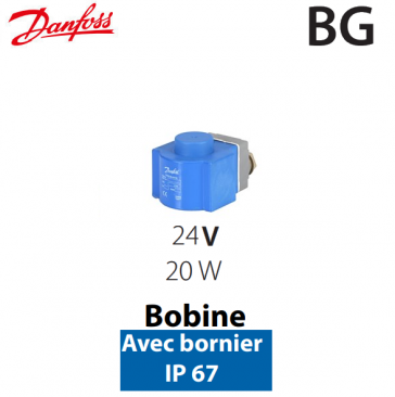 Bobine haute performance BG 018F6857 Danfoss