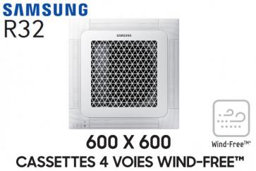 Samsung Cassette 4 voies 600x600 Wind-Free AC026RNNDKG