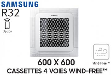 Samsung Cassette 4 voies 600x600 Wind-Free AC035RNNDKG
