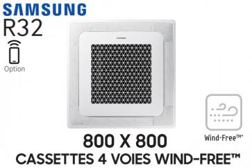 Samsung Cassette 4 voies 800 X 800 Wind-Free AC100RN4DKG Monophasé