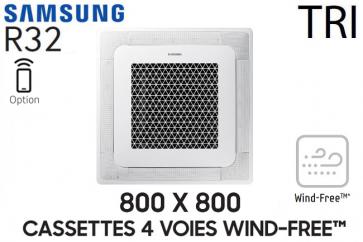 Samsung Cassette 4 voies 800 X 800 Wind-Free AC120RN4DKG Triphasé