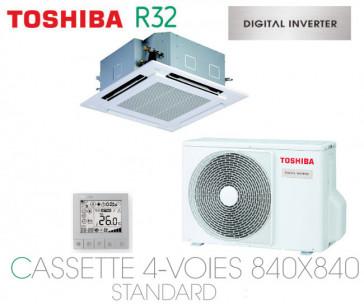 Toshiba Cassette 4-Voies 840X840 STANDARD DI RAV-RM801UTP-E