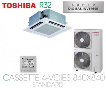 Toshiba Cassette 4-Voies 840X840 STANDARD SDI RAV-RM1101UTP-E