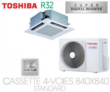 Toshiba Cassette 4-Voies 840X840 STANDARD SDI RAV-RM561UTP-E