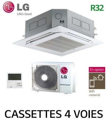 LG Cassette 4 voies Inverter CT12F.NR0 - UUA1.UL0
