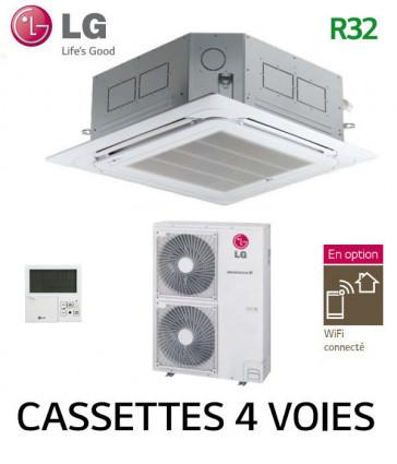 LG Cassette 4 voies DUAL VANE Inverter UT36F.NA0 - UUD1.U30