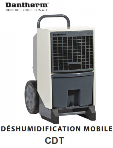 Déshumidificateur d'air mobile CDT40 de Dantherm