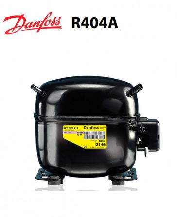 Compresseur Danfoss SC15MLX - R404A, R449A, R407A, R452A