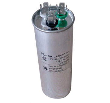 Condensateur permanent CBB65 dual 45+ 1.5 μF