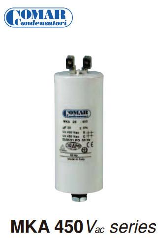Condensateur permanent MKA 2 μF - 450 de Comar