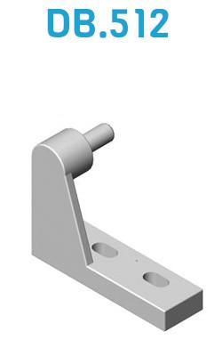 Support pour porte frigorifique DB-512