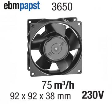 Ventilateur Axial 3650 de EBM-PAPST