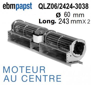 Ventilateur Tangentiel QLZ06/2424-3038 de EBM-PAPST