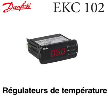 Régulateur de température pour dégivrage électrique EKC 102 C Danfoss