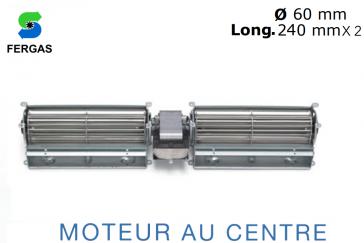 Ventilateur double Tangentiel TGD 60/1-240/30 de Fergas