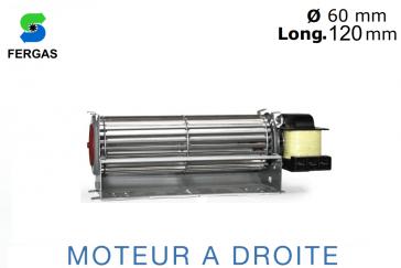 Ventilateur Tangentiel TGA 60/1-120/20 de Fergas