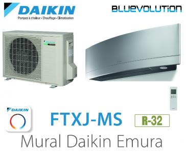 Daikin EMURA FTXJ20MS - R-32 - WIFI inclus