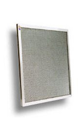 Filtre à graisse, média acier galvanisé, cadre inox pour hottre de cuisine industrielle
