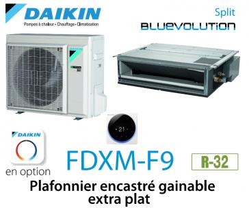 Daikin Plafonnier encastré gainable extra plat FDXM60F9