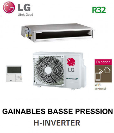 LG GAINABLE Basse pression statique H-INVERTER UL12FH.F50 - UUA1.UL0