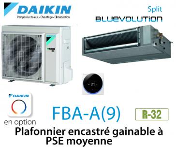 Daikin Plafonnier encastré gainable à PSE moyenne FBA50A9