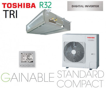 Toshiba Gainable BTP standard compact Digital inverter RAV-RM1401BTP-E triphasé