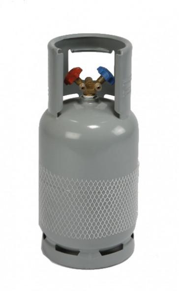 Bouteille de récupération 12 kg - 2 robinets