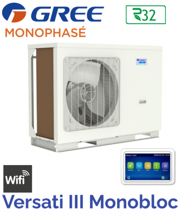 Pompe à chaleur Monobloc VERSATI III MB 6 de GREE