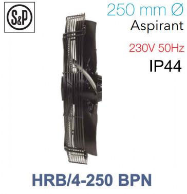 Ventilateur axial de roteur externe HRB/4-250 BPN de S&P