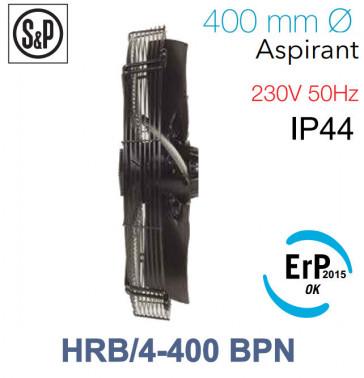 Ventilateur axial de roteur externe HRB/4-400 BPN de S&P