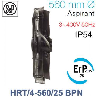 Ventilateur axial de roteur externe HRT/4-560/25 BPN de S&P