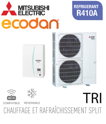 Ecodan 22 réversible ERSE-YM9ED + PUHZ-SW160YKA