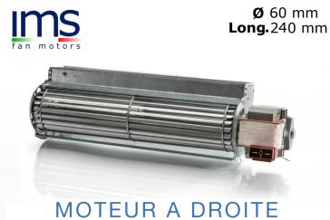 """Ventilateur Tangentiel TG6 – 240 de """"IMS"""""""