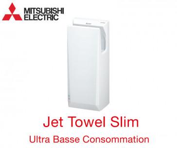 Sèche-mains Jet Towel Slim Blanc JT-SB216KSN2-W-NE - sans Chauffage de Mitsubishi
