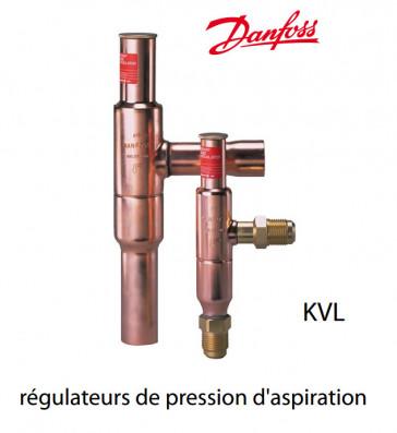 Régulateur de pression d'aspiration de type KVL de Danfoss