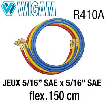 """Jeux de flexibles 5/16"""" x 5/16"""" - 150 Cm"""