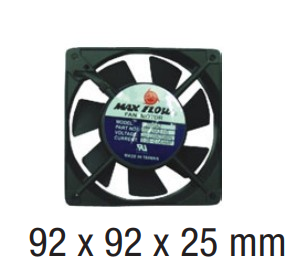 "Ventilateur Axial compact de marque ""Max Flow"""